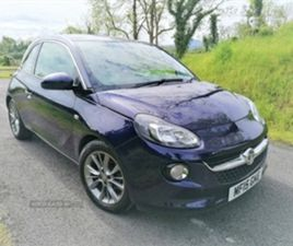 USED 2015 VAUXHALL ADAM JAM HATCHBACK 53,000 MILES IN BLUE FOR SALE | CARSITE