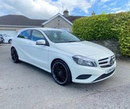 USED 2015 MERCEDES-BENZ A CLASS BLUEEFFICIENCY SE CD HATCHBACK 89,000 MILES IN WHITE FOR S