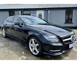 USED 2013 MERCEDES-BENZ CLS CDI AMG BLUEEFFI-Y ESTATE 87,000 MILES IN BLACK FOR SALE | CAR