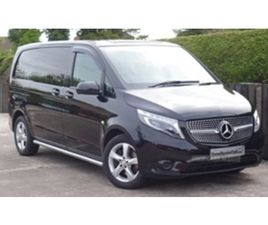 USED 2018 MERCEDES-BENZ VITO 119 SPORT BLUETEC AU NOT SPECIFIED 29,000 MILES IN BLACK FOR