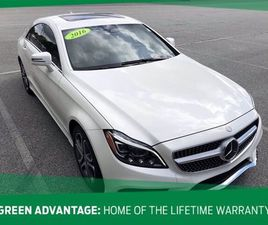WHITE COLOR 2016 MERCEDES-BENZ CLS 400 4MATIC FOR SALE IN GREENSBORO, NC 27407. VIN IS WDD