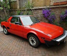 FIAT X19 1500 BERTONE , 1982 , 1 PREVIOUS OWNER