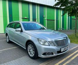 LHD LEFT HAND DRIVE E220 CDI AUTOMATIC 2010 ESTATE AC LEATHERS BUSINESS EDITION