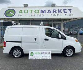 2018 NISSAN NV S CARGO DELUXE SHELVING! LADDER RACK! FREE BCAA & WRNTY