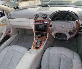 04 MERC CLK CONVERTIBLE FOR SALE IN WICKLOW FOR €4,295 ON DONEDEAL