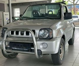 SUZUKI JIMNY 1.3 CABRIO 4WD CLUB/KLIMA/EL.FENSTER/AHK