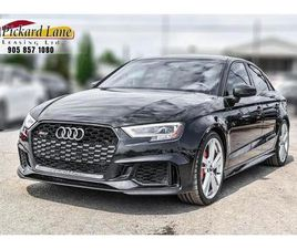 USED 2018 AUDI RS 3 2.5T RS3! | ACCIDENT FREE! | 1 OWNER! | SERVICED AT AUDI!