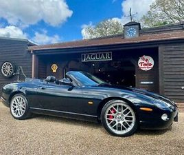JAGUAR XKR 4.2 S 'WHITE BADGE' CONVERTIBLE. 2 OWNERS, 46,000 MILES!