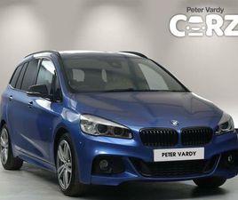 2016 BMW 2 SERIES 2.0TD 220D XDRIVE M SPORT GRAN TOURER 5D - £18,000
