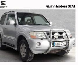 MITSUBISHI PAJERO SWB FOR SALE IN KILKENNY FOR €5,950 ON DONEDEAL