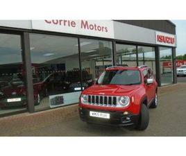 2015 JEEP RENEGADE 2.0TD LIMITED - £11,295