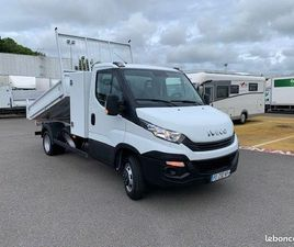IVECO DAILY / 35-140 / BENNE & COFFRE / 35C14 / 2019 / 140 CH /