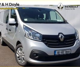 RENAULT TRAFIC CREW CAB DCI 125 SPORT FOR SALE IN WEXFORD FOR €19,950 ON DONEDEAL