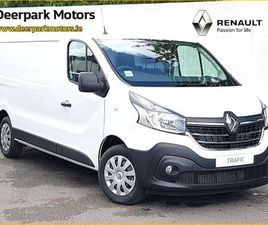 RENAULT TRAFIC LONG WHEEL BASE 120BHP 2LITRE TURB FOR SALE IN CORK FOR €23,400 ON DONEDEAL
