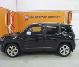 JEEP RENEGADE 1.6 MJET 120HP FWD LIMITED T/DSL-LE FOR SALE IN CORK FOR €19,950 ON DONEDEAL