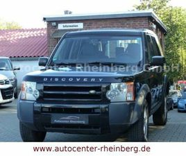 LAND ROVER DISCOVERY V6 TD S 1. HAND VOLLAUASTATTUNG