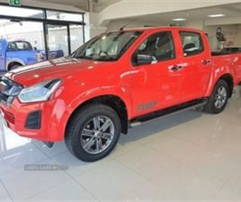 USED 2019 ISUZU D-MAX YUKON FURY NOT SPECIFIED 11,000 MILES IN RED FOR SALE | CARSITE