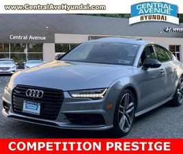 SILVER COLOR 2017 AUDI A7 COMPETITION PRESTIGE FOR SALE IN HARTSDALE, NY 10530. VIN IS WAU