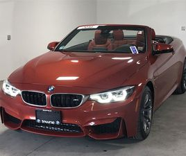 ORANGE COLOR 2018 BMW M4 BASE FOR SALE IN WILLIAMSVILLE, NY 14221. VIN IS WBS4Z9C58JED2254