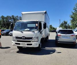 2016 HINO 195 ONLY 14000 KM!! 16 FOOT BOX.GREAT VALUE!!