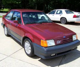 1987 FORD ESCORT GT EFI 1.9 H O 5-SPEED A/C TILT CRUISE 2-DOOR HATCHBACK