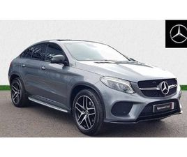 MERCEDES-BENZ GLE COUPE GLE 350D 4MATIC AMG NIGHT ED PREM + 5DR 9G-TRONIC 3.0
