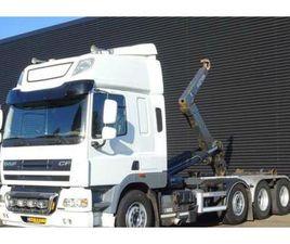 DAF CF 85.460 8X2 JNK EURO 5