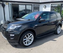 USED 2017 LAND ROVER DISCOVERY SPORT SE TECH E ESTATE 64,000 MILES IN BLACK FOR SALE | CAR