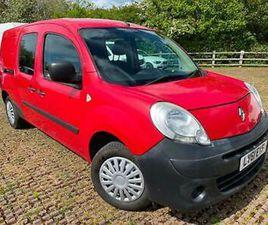2011 RENAULT KANGOO LL21DCI 85 CREW VAN RED ONLY 96000 MILES *CLEAN* NO VAT!! *
