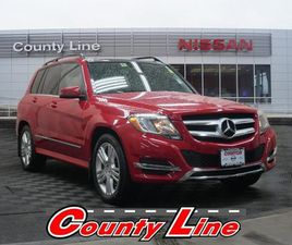 RED COLOR 2015 MERCEDES-BENZ GLK 350 4MATIC FOR SALE IN MIDDLEBURY, CT 06762. VIN IS WDCGG