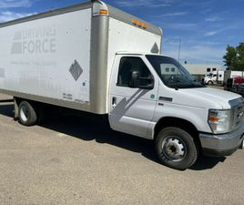 2016 FORD ECONOLINE COMMERCIAL CUTAWAY E-450 16 FOOT CUBE VAN INSULATED WITH HEATER 5.4L G