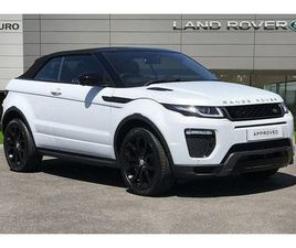 2016 LAND ROVER RANGE ROVER EVOQUE 2.0TD4 HSE DYNAMIC LUX (S/S) CONVERTIBLE 2D AUTO - £32,