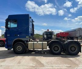 DAF XF105.510 6X4 80T TRACTOR UNIT FOR SALE IN DUBLIN FOR £17,000 ON DONEDEAL