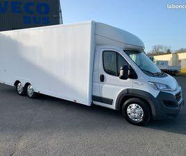 FIAT DUCATO 130 CH PACK PRO NAV / CAISSE 30M3 / 2018 / 62 985 KMS