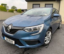 2018 RENAULT MEGANE SPORT TOURER 1.2 65KMS €64 P/W FOR SALE IN WEXFORD FOR €15,950 ON DONE