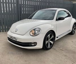 USED 2013 VOLKSWAGEN BEETLE SPORT TDI HATCHBACK 82,000 MILES IN WHITE FOR SALE   CARSITE