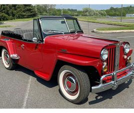 FOR SALE: 1948 WILLYS JEEPSTER IN WEST CHESTER, PENNSYLVANIA