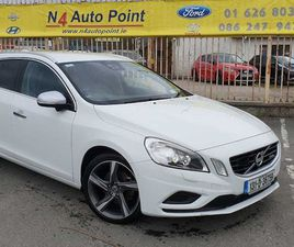 VOLVO V60, 2013 R,DESIGN T4 AUTOMATIC FOR SALE IN DUBLIN FOR €10,950 ON DONEDEAL