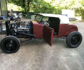 HOT ROD/FORD MODEL A ROADSTER/ROCKABILLY/CHEVY SMALL BLOCK