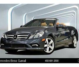 2011 MERCEDES-BENZ E350 CABRIOLET | CARS & TRUCKS | LAVAL / NORTH SHORE | KIJIJI