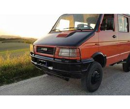 IVECO DAILY TURBO DAILY 4X4 2.5 KLEINBUS, 1991, 306.000 KM, € 12.000,-