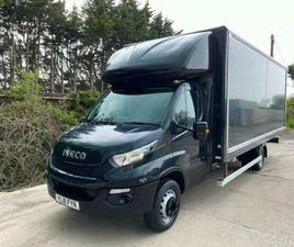2016 IVECO DAILY 70-170 GRP BOX 20FT HORSEBOX FURNITURE REMOVALS CAMPER RECOVERY