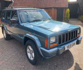 JEEP CHEROKEE XJ 4.0 ( LTH ) AUTO LIMITED ORVIS ONLY 93000 MLS NICE CAR NEW MOT