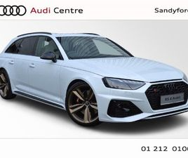 AUDI RS4 NEW AVANT TFSI 450HP S-TRONIC QUATTRO 5DR FOR SALE IN DUBLIN FOR €137,879 ON DONE