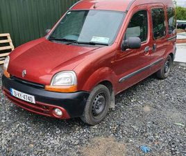 01 RENAULT KANGOO 1.4 WHEEL CHAIR ACCESSIBLE FOR SALE IN KILDARE FOR €900 ON DONEDEAL