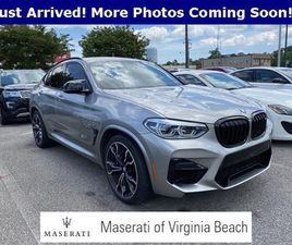 GRAY COLOR 2020 BMW X4 M COMPETITION FOR SALE IN VIRGINIA BEACH, VA 23462. VIN IS 5YMUJ0C0