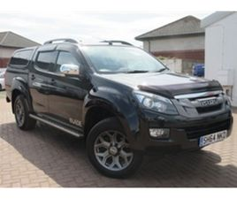 USED 2015 ISUZU D-MAX TD BLADE DCB NOT SPECIFIED 78,000 MILES IN BLACK FOR SALE   CARSITE