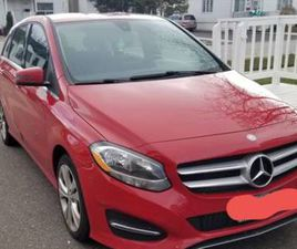 2015 MERCEDES BENZ B250 SPORTS TOURER (RED AND LOW KMS)