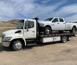 2008 HINO 268 ROLL BACK TOW TRUCK(20-111)