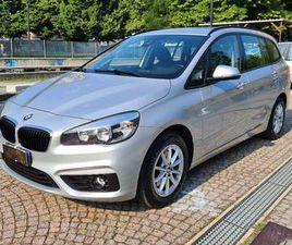 BMW 218 SERIE 2/GRAN TOURER/7POSTI/AUTO/NAVI PROF/TAGL BMW